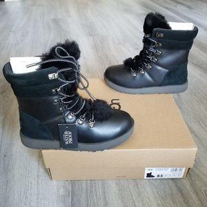 UGG Viki Waterproof Leather Boot.